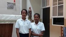 Yohana Fransiska Ema Siga (Yanti), de Watowiti, y Yohanista Lomi Kolor (Nesti) de la isla de Solor.